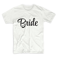 Bride Unisex Graphic Tshirt, Adult Tshirt, Graphic Tshirt For Men & Women