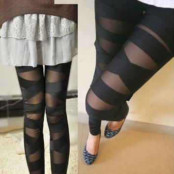 Goth Leggings for Sexy Cosplay