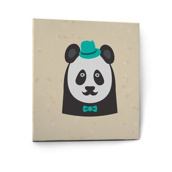 Hipster Animals Pictures Canvas Wall Art Painting Prints Decor Panda