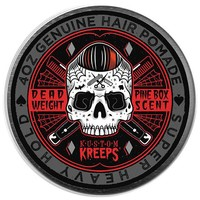 Kustom Kreeps Dead Weight Heavy Hold Hair Pomade Product Quiff Mens