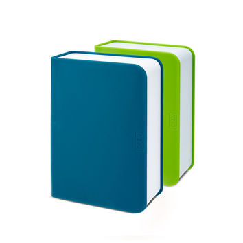 So into this design on Fab! Lunch Box Books Teal & Green #FabForAll