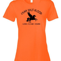 Camp Half Blood Tee | Retro Half-Blood Cool Book T-shirt