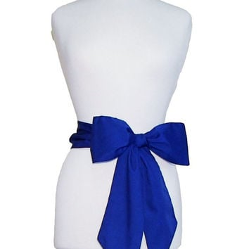 Royal Blue Gameday Bow