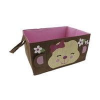 "Babies""R""Us Monkey Baby Girl Nursery Basket"