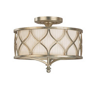 Fifth Avenue 3 Light Semi-Flush Ceiling Fixture