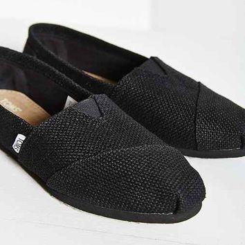 TOMS Burlap Women's Classics Slip-On Shoe-