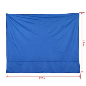 Waterproof Outdoor Picnic Mat Beach Mat Camping Baby Climb Plaid Blanket Ground Mat Mattress 2.2 * 1.8M / 2.2 * 1.5M