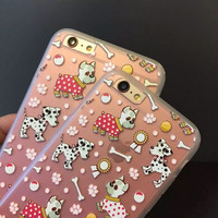 On Sale Cute Iphone 6/6s Stylish Hot Deal Hot Sale Relief Sculpture Soft Phone Case [4915485316]