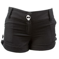 Women's Wool Skull Shorts