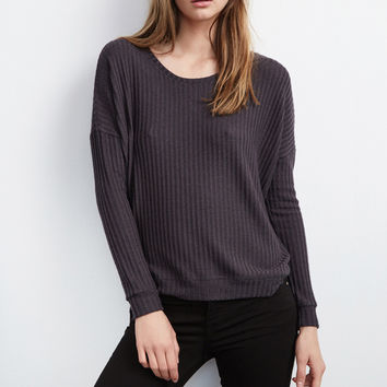 TACY RIBBED HIGH/LOW