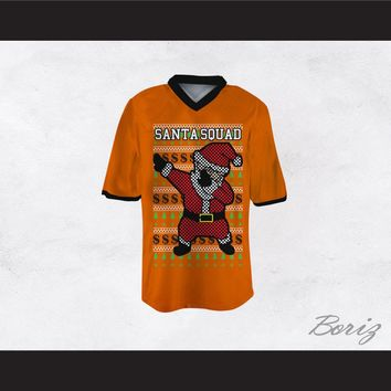 Santa Squad Football Jersey Design 4