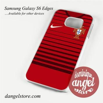 portugal soccer jersey Phone Case for Samsung Galaxy S3/S4/S5/S6/S6 Edge
