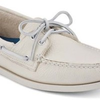 Sperry Top-Sider Authentic Original 2-Eye Boat Shoe Ice, Size 11W  Men's Shoes