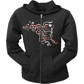 Emily The Strange - Emily N' Vine Juniors Hoodie