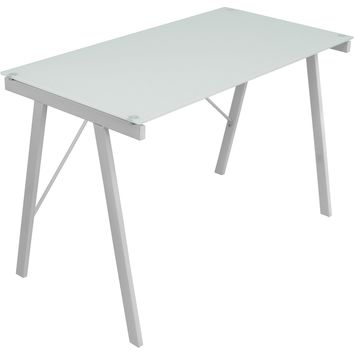 Exponent Office Desk, White