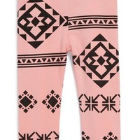 Infant Girl's Joah Love 'Montana' Print Leggings