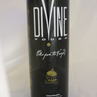 20 oz. Pure Soy Candle in Reclaimed Divine Vodka Bottle - Your Choice of Scent