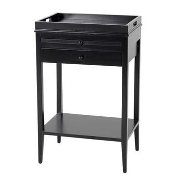 Black Side Table | Eichholtz Broomer