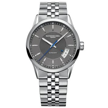 Men's Raymond Weil Freelancer Automatic Grey Dial Watch