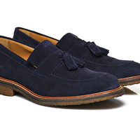Blue Suede Tassel Loafer Fw141262 | Suitsupply Online Store