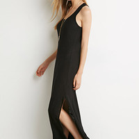 Slub Knit Maxi Dress