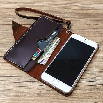 wristlet iphone 6s case leather iPhone 6 wallet case iPhone 6s plus case  wallet iPhone 6 5fd6c09144