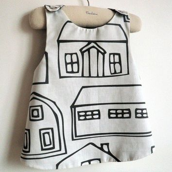 French A La Ville In the City Reversible by chocolatineboutique