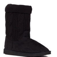 End Of The Day Boots - Black