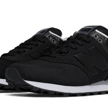 New Balance Men 574 ACB Paint Chip Black/Grey/White