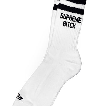 SUPREME BITCH SOCKS – Married To The Mob