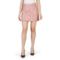 Imperial Pink Polyester Skirt