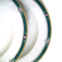 Vintage Christopher Stuart Dinner Plates Somerset Pattern, Set of 3, Pattern Discontinued