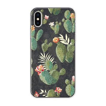Cactus Medley Soft Case for IPhone and Samsung