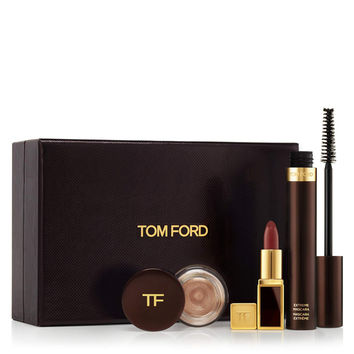 Tom Ford Rose Gold Eye and Lip Three-Piece Set - ShopBAZAAR