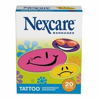 Nexcare Waterproof Tattoo Bandages