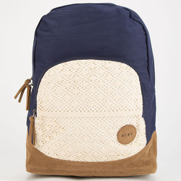 Roxy Lately Backpack Navy One Size For Women 24812621001