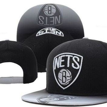 DCCKUN7 Brooklyn Nets Nba1 Cap Snapback Hat - Ready Stock
