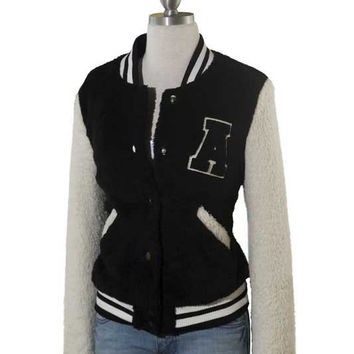 Cozy Letterman Jacket