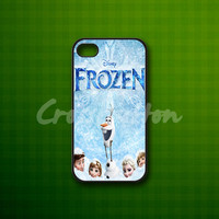 Frozen Cover Disney Movies - Rubber or Plastic Print Custom - iPhone 4/4s, 5 - Samsung S3 i9300, S4 i9500 - iPod 4, 5