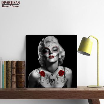 DPARTISAN Marilyn Monroe Quotes canvas Poster wall pictures for living room Wall art home decor modern abstract No Frame