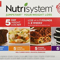 Nutrisystem Jumpstart Your Weight Loss 5 Day Weight Loss Kit Contains 5 Breakfasts, 5 Lunches, 5 Dinners, 5 Desserts