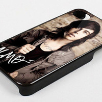 kellin quinn sleeping with sirens signature kk for iphone 4/4s case, iphone 5 case