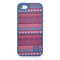 Vintage Stripe Canvas Phone Case For iPhone 5