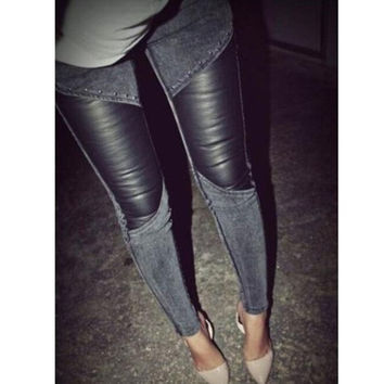 Winter and spring women's clothing of fashion pencil pants = 1901183748