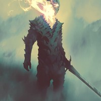 Dragon Soul, an art print by Shahab Alizadeh