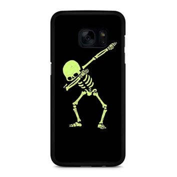 Dabbing Skeleton Samsung Galaxy S7 Edge Case