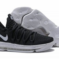Nike KD 10 Black White For Sale