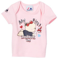 MLB Infant/Toddler Girls' Cleveland Indians My First Love Tee (Pink, 3-6 Months)