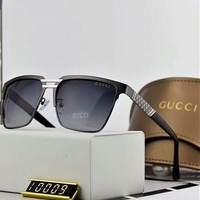 Gucci polarized metal men's large frame sunglasses F-A-SDYJ NO.4