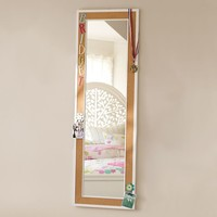 Cork-Framed Mirror